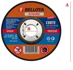 Диск за метал Bellota 50400 - 115