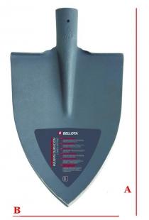 Лопата Bellota без сап 5557 23SM