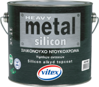 Силиконова алкидна боя - HEAVY METAL SILICON