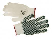 Nylon and pvc gloves 72173