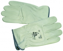 Brushed leather glove 72167